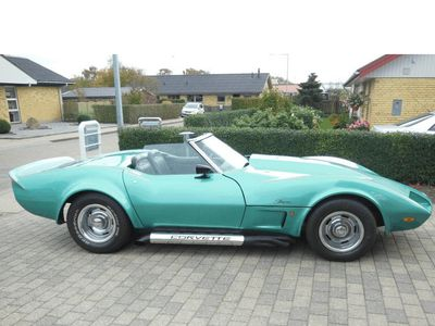 brugt Chevrolet Corvette Stingray Corvette 5,7 V8cab