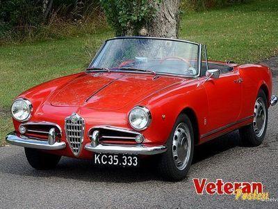 brugt Alfa Romeo Giulietta Spider