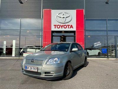 brugt Toyota Avensis 1,8 Linea Sol 129HK