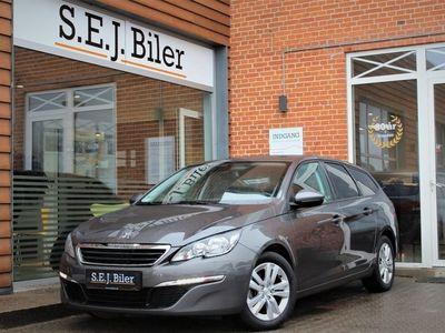brugt Peugeot 308 1,6 BlueHDi Active SW 120HK 5d