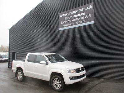 brugt VW Amarok 2,0 TDI Highline 4Motion 180HK Pick-Up 8g Aut. 2014