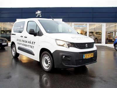 brugt Peugeot Partner L1 V2 1,5 BlueHDi Ultimate Launch 100HK Van