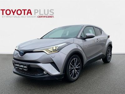 brugt Toyota C-HR 1,8 B/EL Premium Selected Multidrive S 122HK 5d Aut. A++