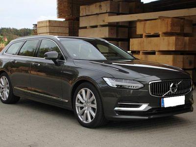 brugt Volvo V90 2,0 D4 Momentum 190HK Stc 8g Aut. - Personbil - koksmetal