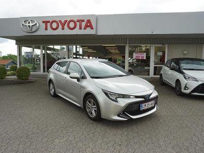 brugt Toyota Corolla Touring Sports 2,0 B/EL H3 E-CVT 180HK Stc 6g Aut.
