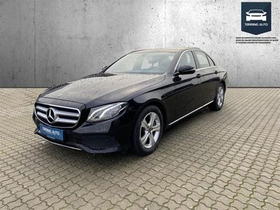 brugt Mercedes E300 0 9G-Tronic 245HK 9g Aut. - Personbil - Sort