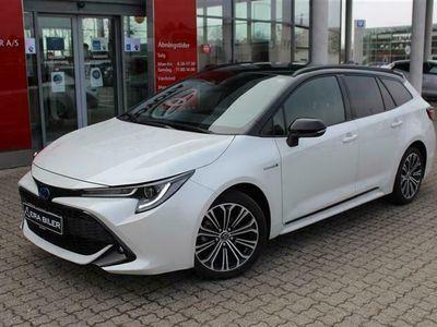 brugt Toyota Corolla Touring Sports 1,8 B/EL H3 Designpakke E-CVT 122HK Stc Trinl. Gear