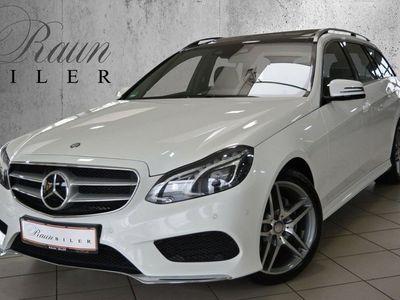 brugt Mercedes E300 4MATIC - 252 hk G-TRONIC AMG-Line
