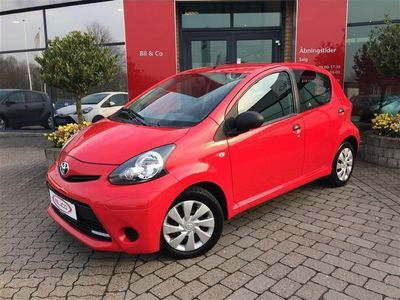 second-hand Toyota Aygo 1,0 68HK 5d