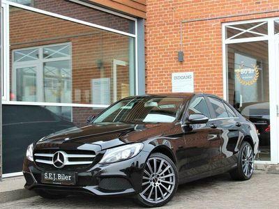 brugt Mercedes C200 d 1,6 D 136HK A+