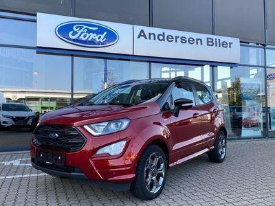 brugt Ford Ecosport 1,0 EcoBoost ST-Line Black Start/Stop 140HK 5d