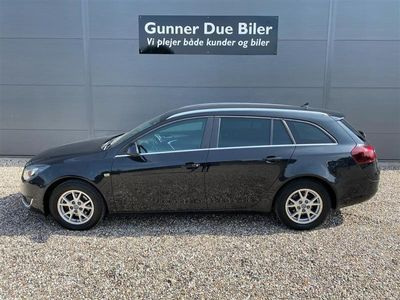brugt Opel Insignia Sports Tourer 2,0 CDTI Edition Start/Stop 140HK Stc 6g