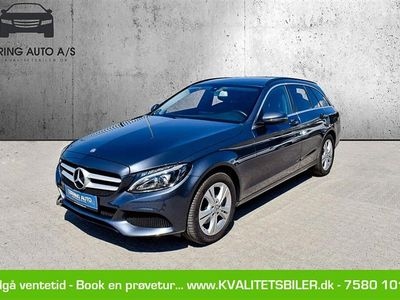 brugt Mercedes C220 d 2,1 D 7G-Tronic Plus 170HK Stc Aut. - Personbil - koksmetal