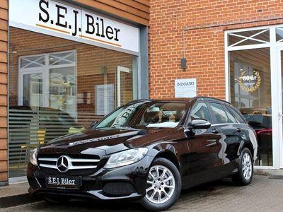 brugt Mercedes C200 d 2,2 stc. 136HK aut 5d
