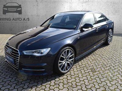 brugt Audi A6 3,0 TDI S Tronic 218HK 7g Aut. - Personbil - mørkblåmetal