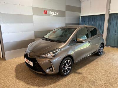 brugt Toyota Yaris 1,5 VVT-I T3 Smartpakke Multidrive S 111HK 5d 6g Aut. A+