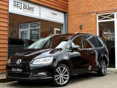 brugt VW Sharan 2,0 TDi Highline DSG 150HK aut 5d