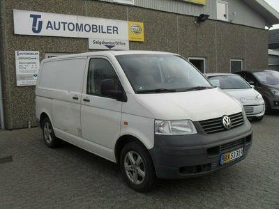 käytetty VW Transporter 2,5 TDi 130 Kassevogn kort