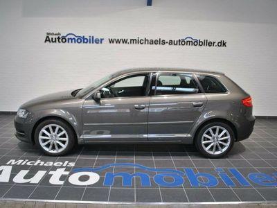brugt Audi A3 Sportback 2,0 TDi 136 Attraction