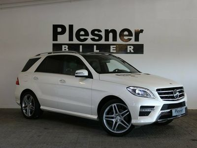 used Mercedes ML350 3,0 BlueTEC AMG Line aut. 4-M
