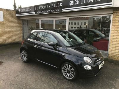 brugt Fiat 500 0,9 TwinAir 80 Black Edition