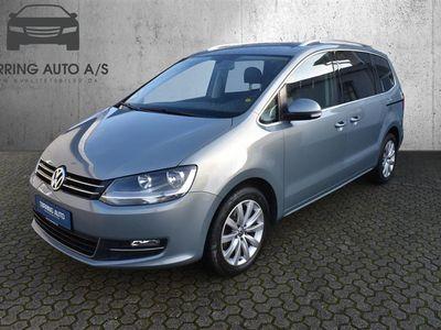 brugt VW Sharan 2,0 BlueMotion TDI DPF Comfortline DSG 140HK 6g Aut. - Personbil - gråmetal - 7 pers.
