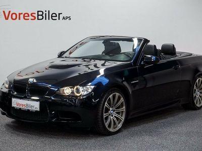 brugt BMW M3 Cabriolet 4,0 DKG