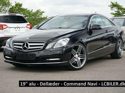 brugt Mercedes E350 0 CDi Coupé aut. BE