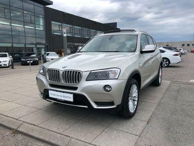 brugt BMW X3 35I 3,0 XDrive 306HK 5d 8g Aut.