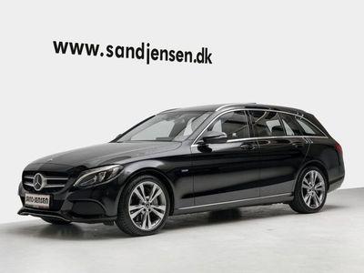 brugt Mercedes C350e 2,0 Avantgarde stc. aut.