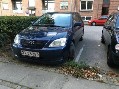 brugt Toyota Corolla 1,6 HB MAN.