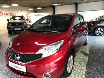 used Nissan Note 1,2 Acenta Plus Tech Pack 80HK 5d