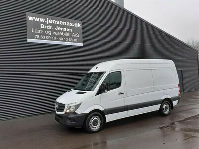 brugt Mercedes Sprinter 316 KASSEVOGN AUT, 2,1 CDI R2 163HK Van 2017