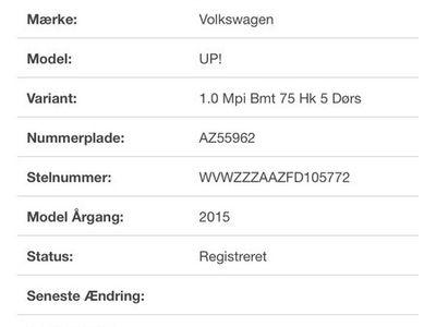 usado VW up! 1.0 75 HK high up!