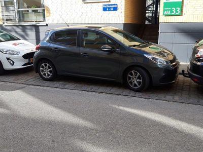 gebraucht Peugeot 208 1,6 BlueHDi Desire Sky 100HK 5d