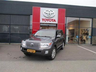 brugt Toyota Land Cruiser VX200 4,5 V8 D4-D 4x4 286HK Van Aut.