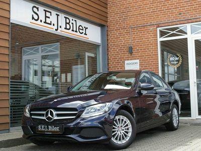 gebraucht Mercedes C200 2,0 184HK aut 4d