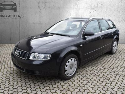 brugt Audi A4 Avant 1,9 TDI 130HK Stc - Personbil - Sort