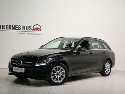 gebraucht Mercedes C200 d 2,2 stc. aut.