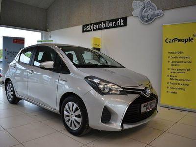 brugt Toyota Yaris Hybrid 1,5 Hybrid Komfort CVT