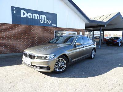 brugt BMW 520 2,0 d Steptronic 190HK Sedan aut