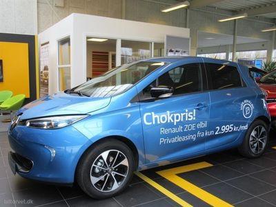 used Renault Zoe el 41 kWh Intens 109HK 5d Aut.