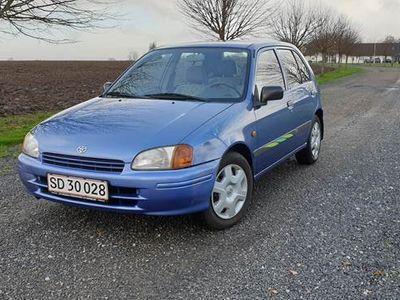 brugt Toyota Starlet 1,3 XLi 5d