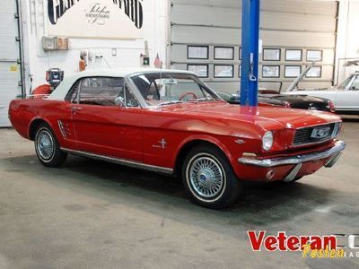 brugt Ford Mustang Convertible 289cui.