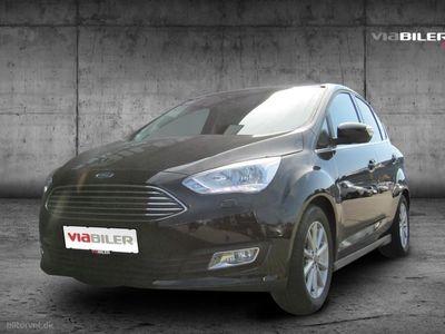 gebraucht Ford C-MAX 1,5 EcoBoost Titanium Powershift 150HK 6g Aut.