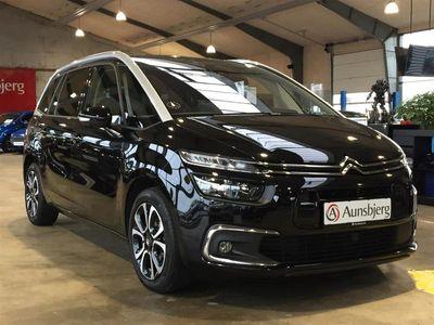 brugt Citroën C4 SpaceTourer Grand1,2 PureTech Exclusive EAT8 130HK 8g Aut.