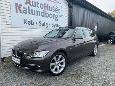 brugt BMW 318 d 2,0 Luxury Line aut.