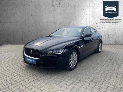 brugt Jaguar XE 2,0 D Pure 180HK 8g Aut. - Personbil - Sortmetal