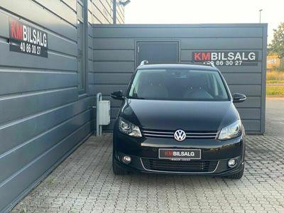 brugt VW Touran 2,0 TDi 140 Highline DSG