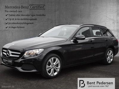 used Mercedes C200 T 2,0 184HK Stc 6g